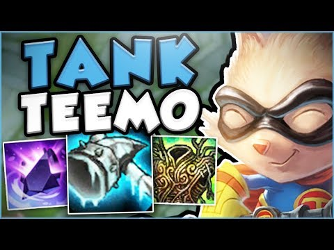 THIS NEW TANK TEEMO BUILD WILL TILT YOUR ENEMIES SO MUCH! TANK TEEMO TOP GAMEPLAY! League of Legends