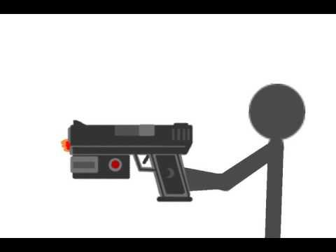 Анимация стрельбы