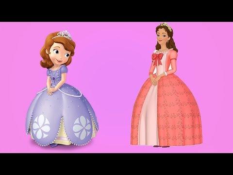Download Prenses Sofia çıkartma Boyama Kitabı Giydir Ve Eğlen çocuk