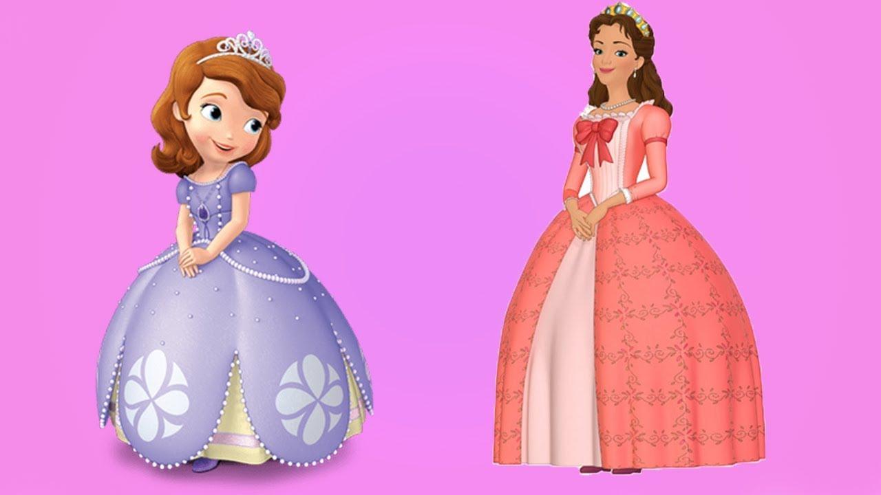 Prenses Sofia Ve Annesi Miranda Baloya Gidiyor Boyama Kitabi