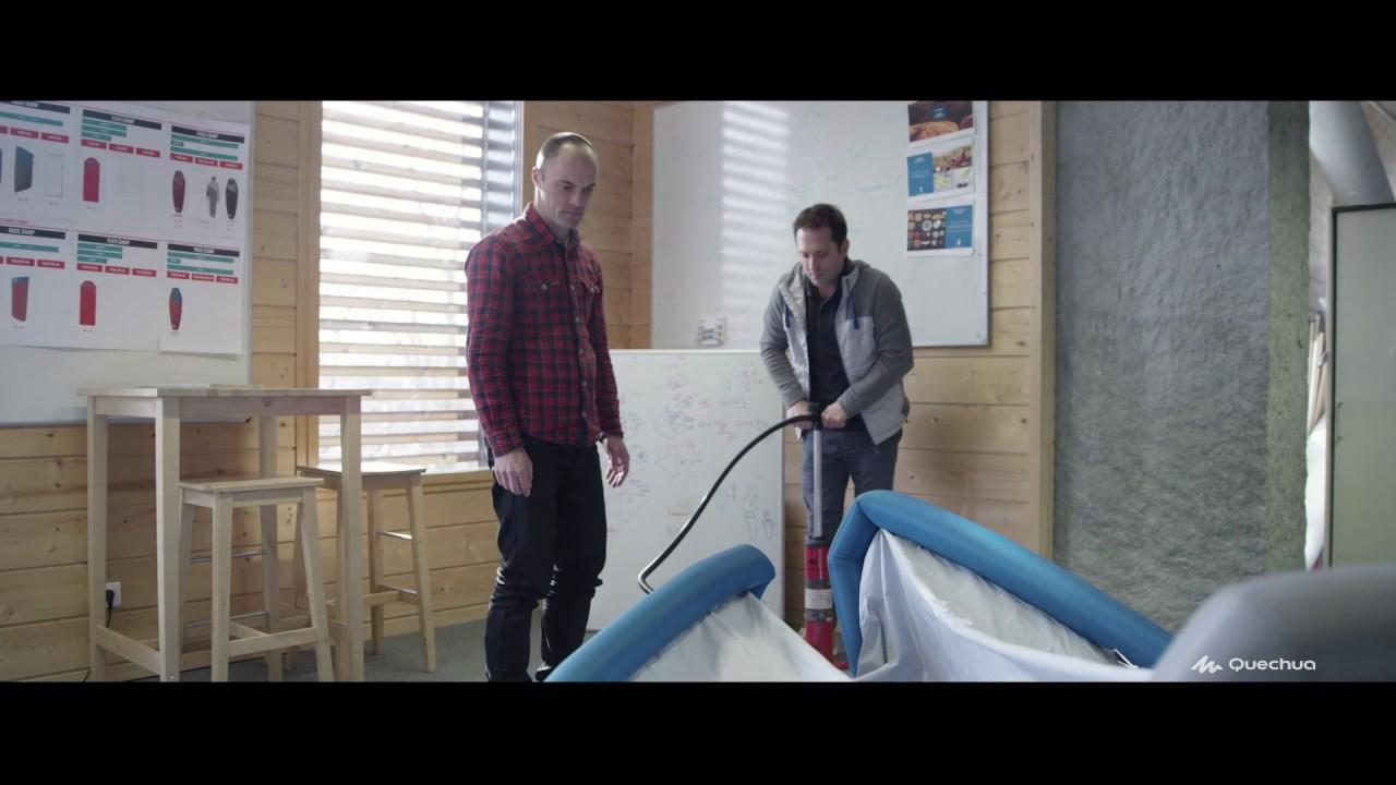 conception tentes gonflables quechua youtube. Black Bedroom Furniture Sets. Home Design Ideas