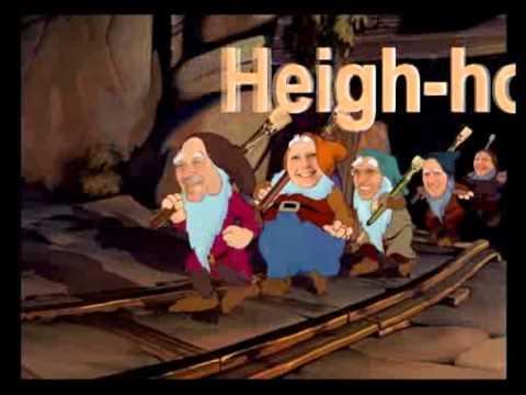 Blanche Neige et les 7 Nains   Heigh ho     ils ont de beaux pinceaux