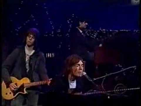 Augustana Boston  on Letterman