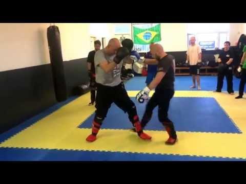 Easy Takedowns When Sparring - Ricky Manetta - MMA Krav Maga