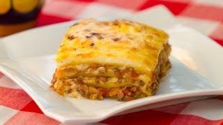Como Hacer La Lasaña Boloñesa O Lasagna Bolognese