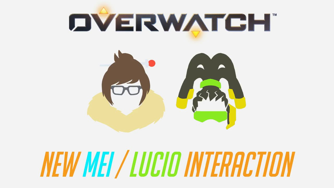 Overwatch - New Mei / Lucio Interaction