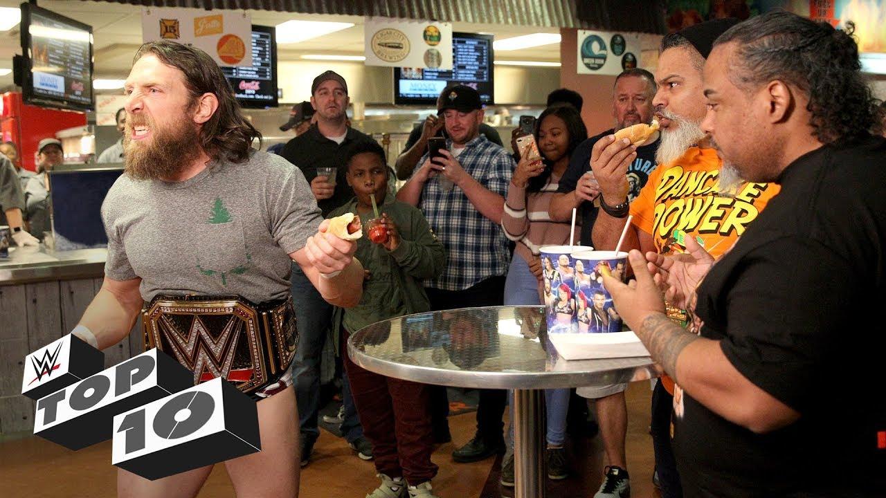 Superstars vs. the WWE Universe: WWE Top 10, Jan. 12, 2019