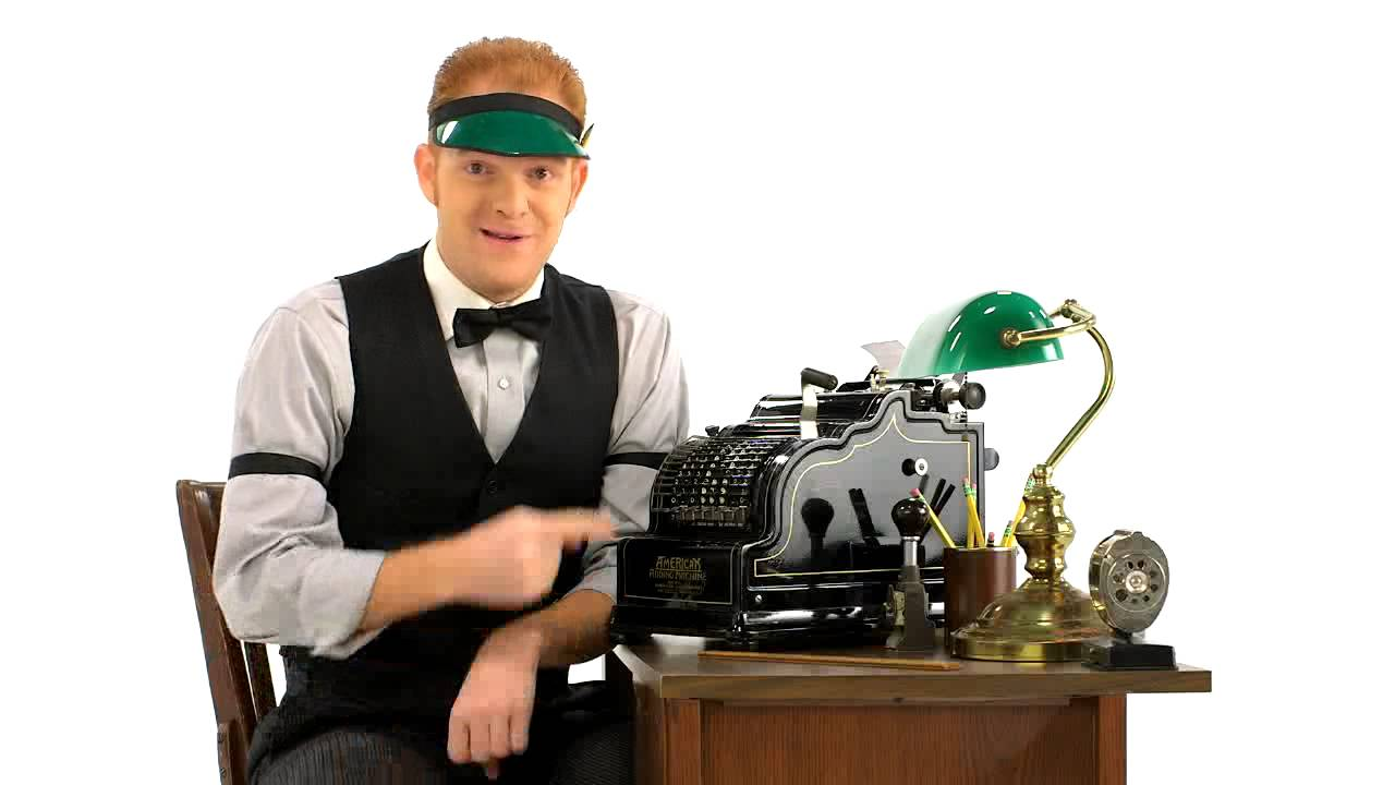 Accountant Bookkeeping The Incredible Bookkeeping Machine Of 1920 | Intuit [video