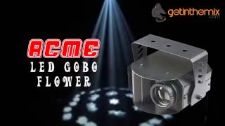 Acme LED Gobo Flower Lighting Effect
