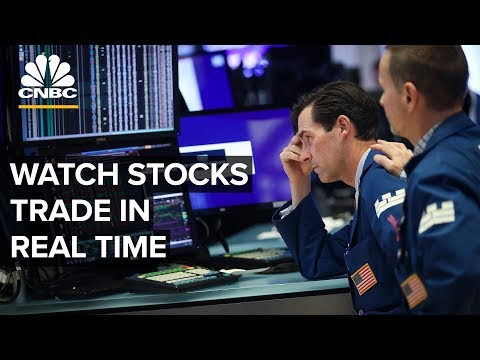 Watch Stocks Trade In Real Time – 08/05/2019