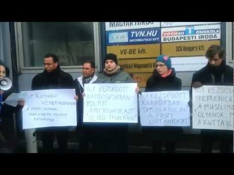 Tiltakozás   a náci ideológia  ellen, amit  Bayer  Zsolt és  a Magyar hírlap képvisel