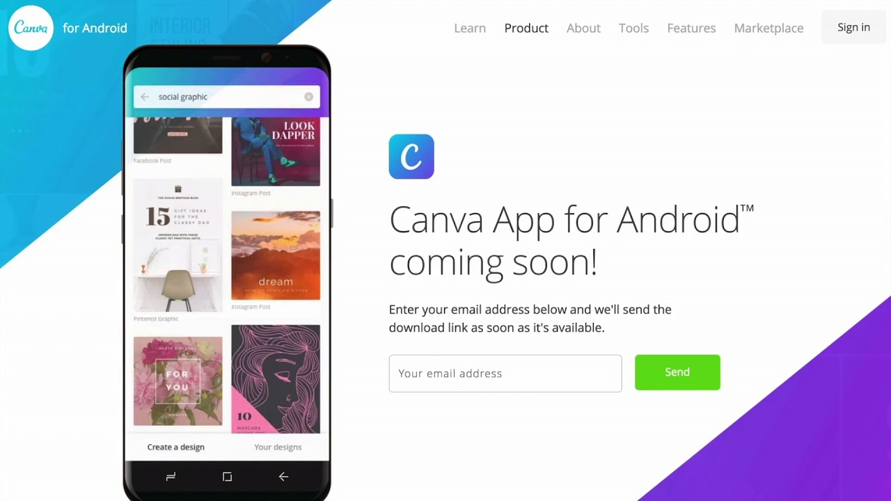 The Canva Android app is coming soon! - YouTube