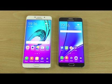 Samsung Galaxy A9 VS Note 5 - Comparison!
