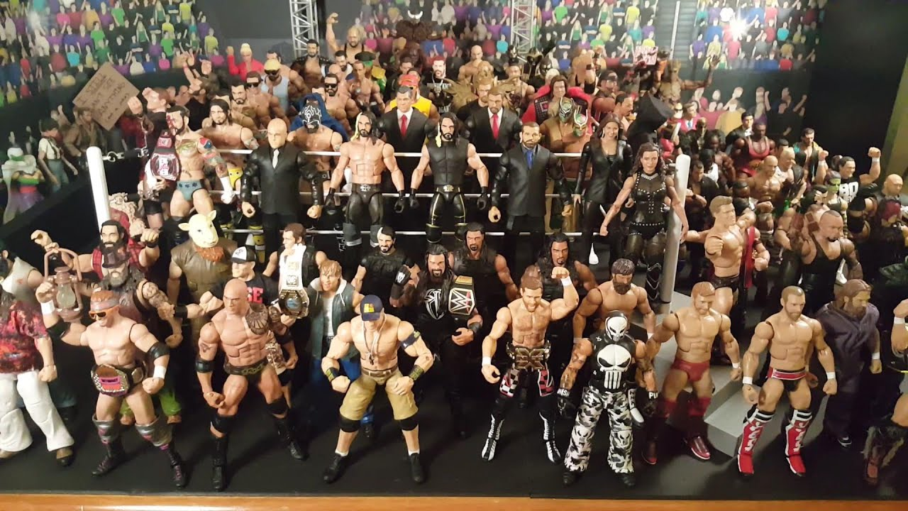 Download BurnoutInc's WWE Figure Collection Modern Roster Edition 2015