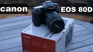Canon EOS 80D DSLR Unboxing and Quick REVIEW [HINDI]