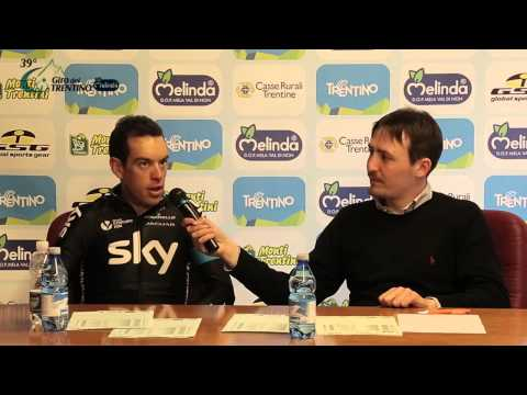 Giro del Trentino Melinda 2015: Richie Porte's press conference on April 23rd