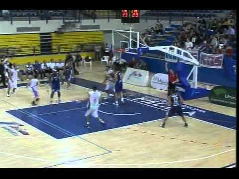 Howard Brown Basketball (HB#9-white team) 22pts,8rb,30valor Palencia@Melilla part3