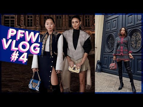 PFW Part 4: Favorite Shows, Chanel, Louis Vuitton & Karaoke  Vlog #69  Aimee Song