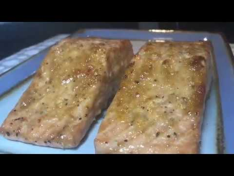 Baked Salmon With Mayonnaise And Oyster Sauce - Ron Bilaro