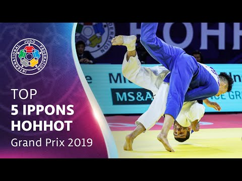 Top 5 Ippons - Hohhot GP 2019