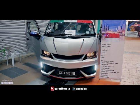 Singapore Van Porn - Toyota Hiace & Nissan Urvan / NV - Negeri Sembilan International Autosalon 2017