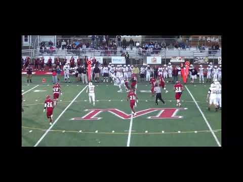"Bailey Lash South Windsor High School Football Sophomore Season Highlights (TE and DE 6'4"")"