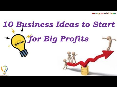 10 Business Ideas to Start for Big Profits