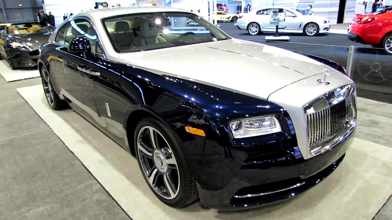 2014 rolls royce wraith exterior and interior walkaround Motor vehicle chicago