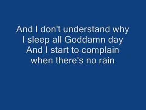 Blind Melon No Rain Ripped Away Version Lyrics