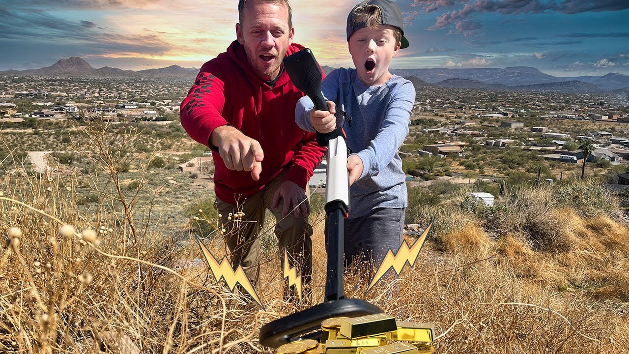 Metal Detecting For Treasure In the Wilderness! Do We Find the Gold?