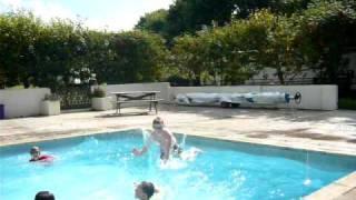 The Kids Make a Splash