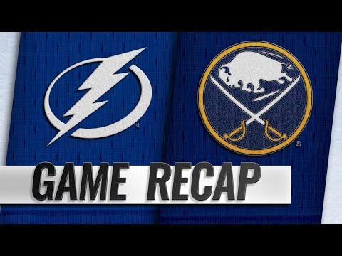 Hutton, Sabres hold off Lightning, 2-1