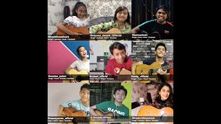 PASS THE GUITAR | Kashika ft. Alyssa, Santesh, Erissa, Rykarl, Aniq, Hazury, Kiki, Hashmitha