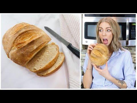 ❥-pain-fait-maison-(ultra-facile!)-|-cook-&-chat-with-sandrea