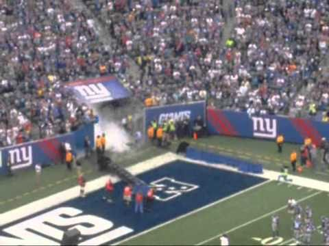 2010 Opening Day New York Football Giants New Meadow Lands Stadium