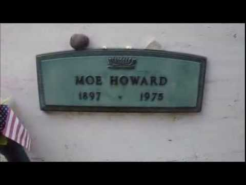 Crypt of Moe Howard of the Three Stooges