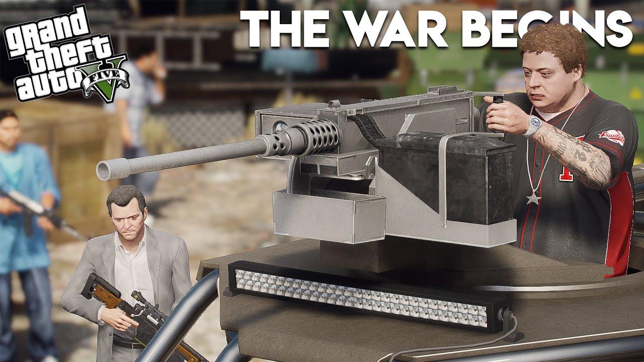 GTA 5 - THE WAR BEGINS || THE GAMBLER
