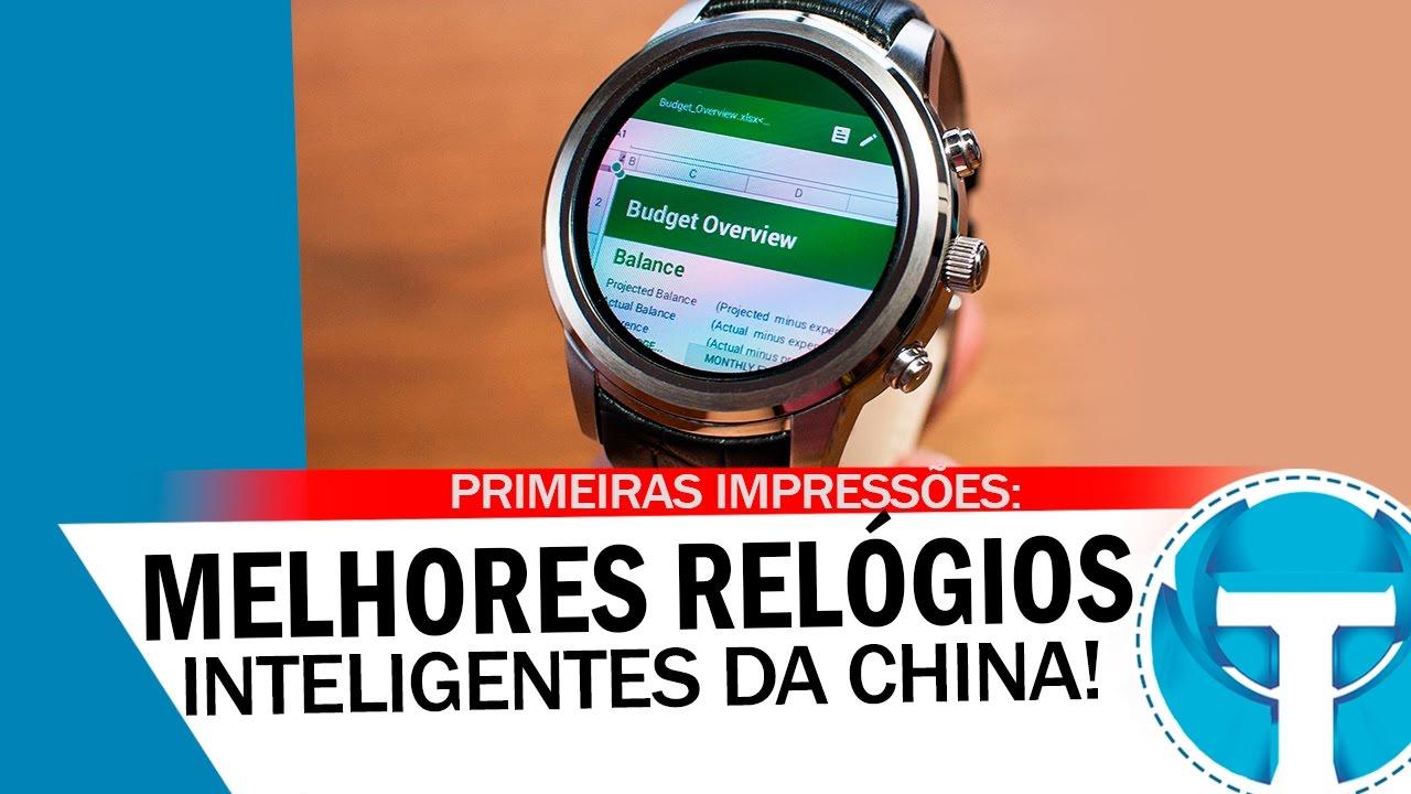 1a5da7e2e3f Os melhores Smartwatches (Relógios inteligentes) da china - YouTube