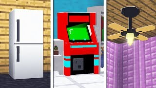 10 THINGS YOU DIDN'T KNOW YOU CAN CRAFT IN MINECRAFT!
