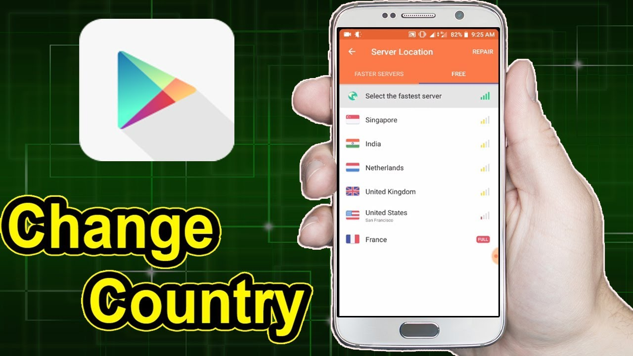 How To Change Google Play Store Country - 2019 (NO ROOT)