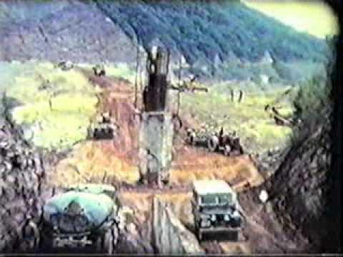 Construcción del Dique El Cadillal xvid