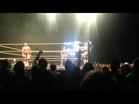 Dash & Dawson are Unimpressed by the Jordan & Gable Chants (Nottingham, England 14-12-15)