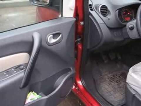 Звук бензинового мотора Renault Kangoo красный