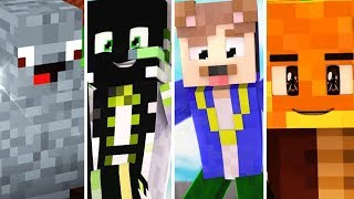 TOP 10 YOUTUBER MINECRAFT SKINS