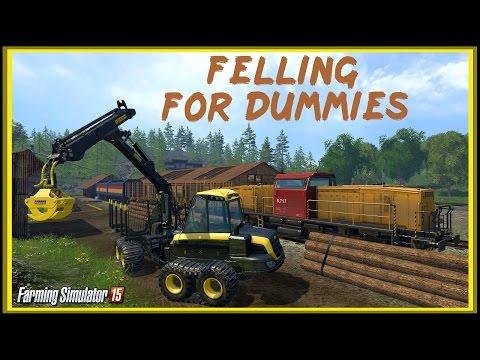 Farming Simulator 15 - Лесоповал