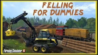 Farming Simulator 15 - Лесоповал