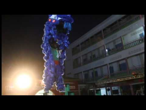 Cambodia Poipet City Khuan Loke Dragon & Lion Dance Sport 1