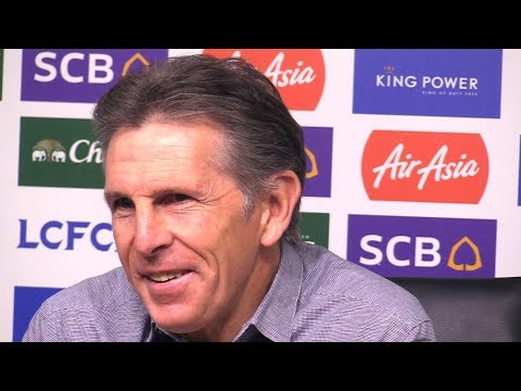 Claude Puel Full Pre-Match Press Conference - Brighton v Leicester - Premier League
