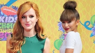 Bella Thorne and Zendaya On The Red Carpet Kids Choice Awards 2014