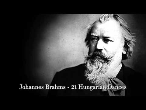 Johannes Brahms - 21 Hungarian dances FULL